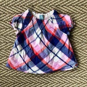 Baby Gap plaid shirt